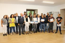 Cores Tourís destaca na clausura do obradoiro 'Vista Real IV' de Vilanova de Arousa a importancia dunha formación especializada que facilite o acceso ao mercado laboral