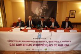 A Xunta mellora a dimensión internacional, turística e territorial do viño galego cun investimento de case 750.000 euros