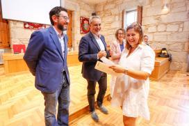 Cores Tourís clausura el taller 'Coidar de Nós' en el que se formaron 20 desempleados de Ponteareas y As Neves