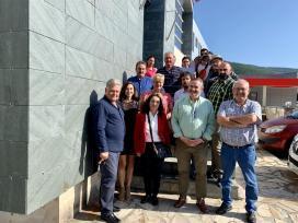 Balseiro clausuró el taller de empleo Sillor V, en el que se formaron 20 personas en especialidades del sector de la construcción