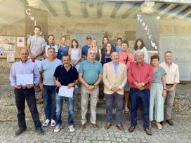 Balseiro clausura el taller dual de empleo que formó a 20 trabajadores desempleados en Carballedo y Chantada