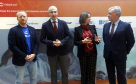 A Xunta destaca que Boeing elixa Galicia para poñer en marcha as Aulas Newton, un proxecto educativo pioneiro vinculado ao sector aeroespacial