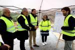 Ethel Vázquez avanza o remate a principios de 2020 das obras do saneamento da parroquia de Tenorio, en Cerdedo-Cotobade, cun investimento autonómico de 1,8 millóns de euros
