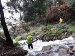 A Xunta executa actuacións de conservación e limpeza no treito interurbano do río Xunqueira, ao seu paso por varias parroquias do concello de Viveiro