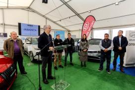 Conde aposta en Ribeira por unha mobilidade eficiente e limpa baseada nas novas tecnoloxías e comprometida coa sustentabilidade