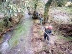 A Xunta executa actuacións de conservación e limpeza nos tramos interurbanos de varios ríos do concello de Vimianzo