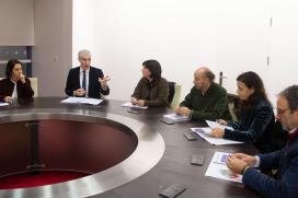 Conde avanza cos empresarios do Tambre e con Bioga na posta en marcha do polo de innovación biotecnolóxica de Santiago