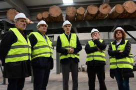 A Xunta destaca a capacidade de superación e a aposta pola transformación da empresa das Neves Maderas Vial