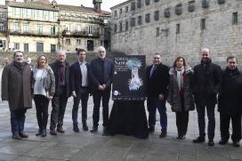 A Xunta destaca en Santiago a alianza do comercio de proximidade coa Semana Santa compostelá