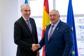 Conde e o alcalde de Pol estudan novas iniciativas para impulsar o tecido empresarial do concello lugués
