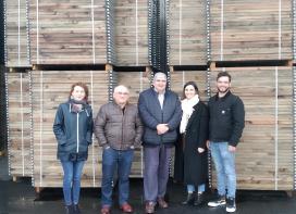 A Xunta destaca que Maderas Goiriz exemplifica o esforzo do sector forestal galego por innovar en toda a cadea de transformación da madeira