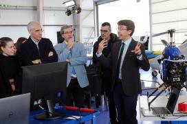 A Xunta achega o Polo Aeroespacial de Galicia a 180 mozos e mozas galegos para espertar neles as vocacións  científico-tecnolóxicas