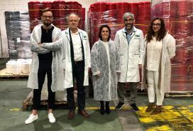 A Xunta destaca a aposta de Ecoplas pola innovación para diversificar a súa produción e chegar a novos mercados