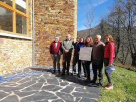 A Xunta destaca o compromiso dos comuneiros da Devesa da Rogueira, en Folgoso do Courel, coa xestión sustentable do monte