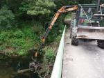 A Xunta executa actuacións de conservación e limpeza nos treitos interurbanos do río Sar, nos concellos de Padrón e de Rois