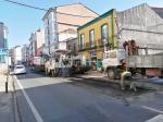 A Xunta inicia as obras de mellora de firme da estrada autonómica  AC-840 na travesía de Melide