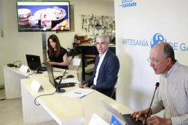 A nova web de Artesanía de Galicia configúrase como o gran escaparate para impulsar a comercialización do sector