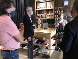 Máis de 1.300 establecementos de toda Galicia súmanse á rede de comercios no Camiño