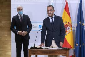Pablo Casal toma posesión como novo secretario xeral técnico da Vicepresidencia Segunda e Consellería de Economía, Empresa e Innovación