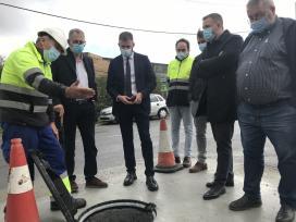 A Xunta destina máis de 69.000 euros á mellora da rede de hidrantes no polígono industrial de Bértoa