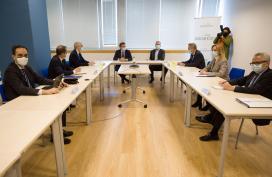Feijóo presenta os proxectos de automoción incluídos na proposta de Galicia aos fondos europeos e que prevén a mobilización de 1.300 M€ e a creación de 900 novos empregos