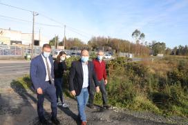 A Xunta destina máis de 935.000 euros á mellora das redes de distribución eléctrica do polígono empresarial de Aranga
