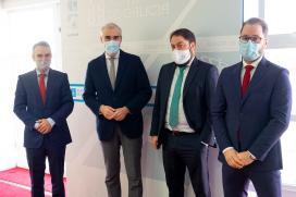 Conde informa a AJE da nova liña de préstamos dirixida aos autónomos e empresarios con máis dificultades de liquidez