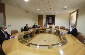 A Xunta avalía co Consello Galego de Enxeñerías o potencial da futura Lei de reactivación económica para atraer proxectos cara a Galicia