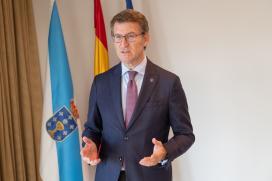 Feijóo aposta por potenciar o uso da madeira na rehabilitación e na nova construción como elemento fundamental para estimular a transformación da economía e da industria galega