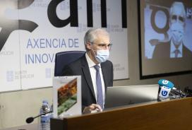 Conde subliña que o proxecto de Biomasa AP demostra que as rexións que queiran ser competitivas e garantir o seu futuro deben colaborar a través da investigación e a innovación