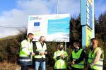 A Xunta ofrece a súa colaboración ao Concello de Melide para completar a rede de saneamento na parroquia de Santa María, que suporá un investimento próximo aos 134.000 euros