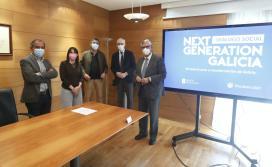 A Xunta de Galicia propón aos integrantes da Mesa do Diálogo Social a creación dun grupo de traballo para seguir perfilando a candidatura galega aos fondos Next Generation
