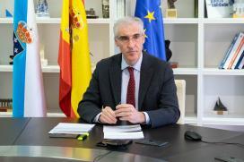 Conde destaca que o reto de Galicia é lograr que os fondos europeos cheguen a toda a cadea de valor da industria asegurando un crecemento sostible