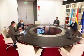 A Xunta informa aos empresarios de Ribeira dos apoios postos en marcha para impulsar a reactivación