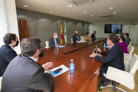 A Xunta e Dihgigal avalían o desenvolvemento deste hub galego de innovación dixital