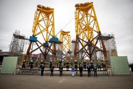 Feijóo constata la confianza de la eólica offshore en Galicia abriendo nuevas oportunidades para la industria de Ferrolterra