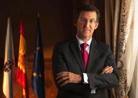 Alberto Núñez Feijoo, presidente da Xunta de Galicia